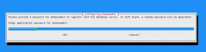 phpMyAdmin - instalace - heslo