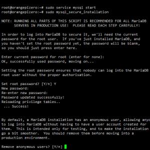 MariaDB - instalace